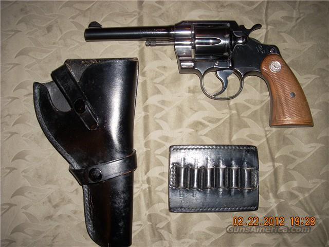 Colt Official Police Revolver  Guns > Pistols > Colt Double Action Revolvers- Modern