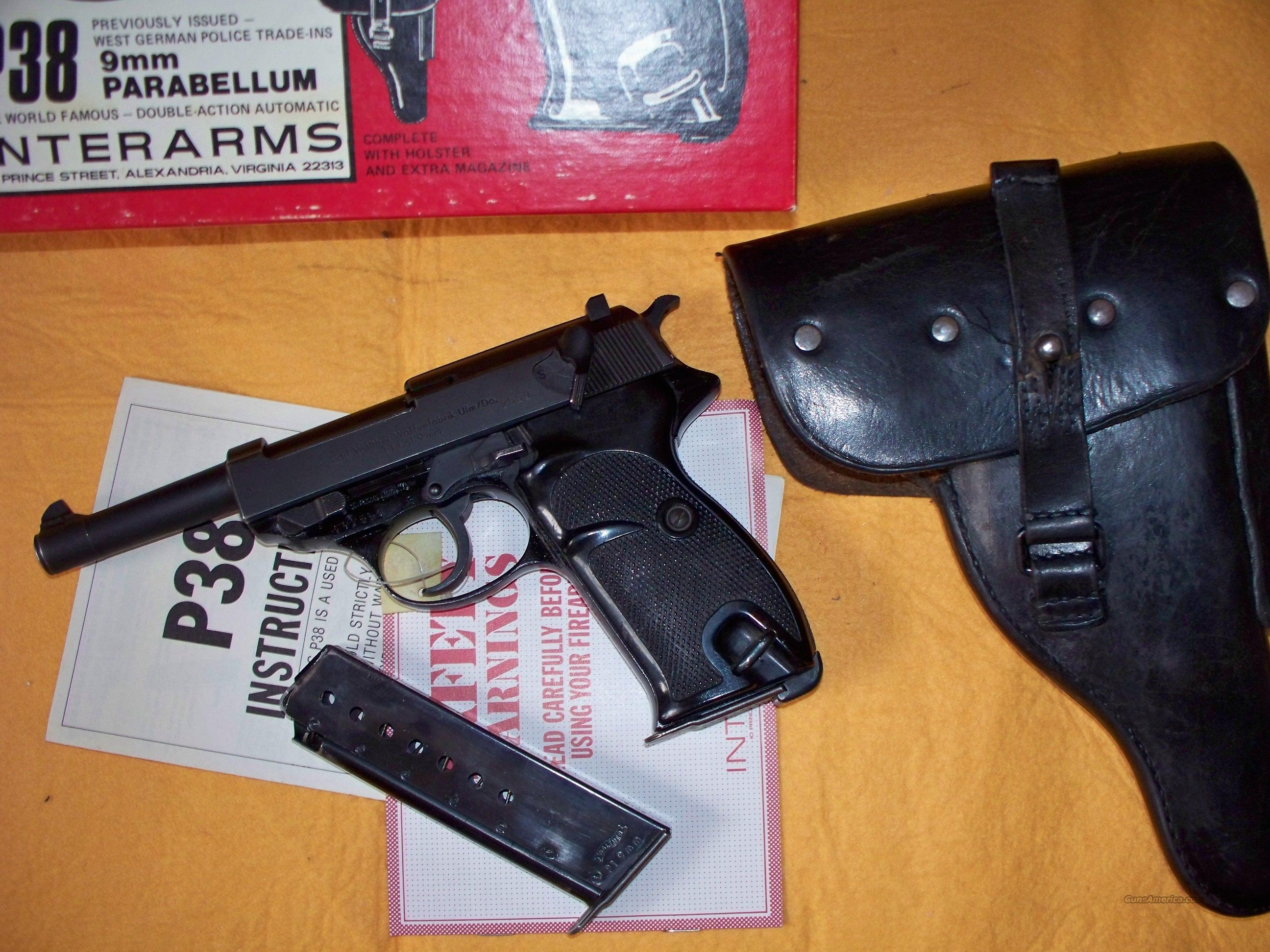 Walther P38 Post War Police 9mm Pistol  Guns > Pistols > Walther Pistols > Post WWII > P38