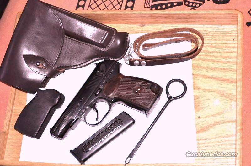 Bulgarian Makarov 9x18mm Military Pistol with Extras  Guns > Pistols > Military Misc. Pistols Non-US