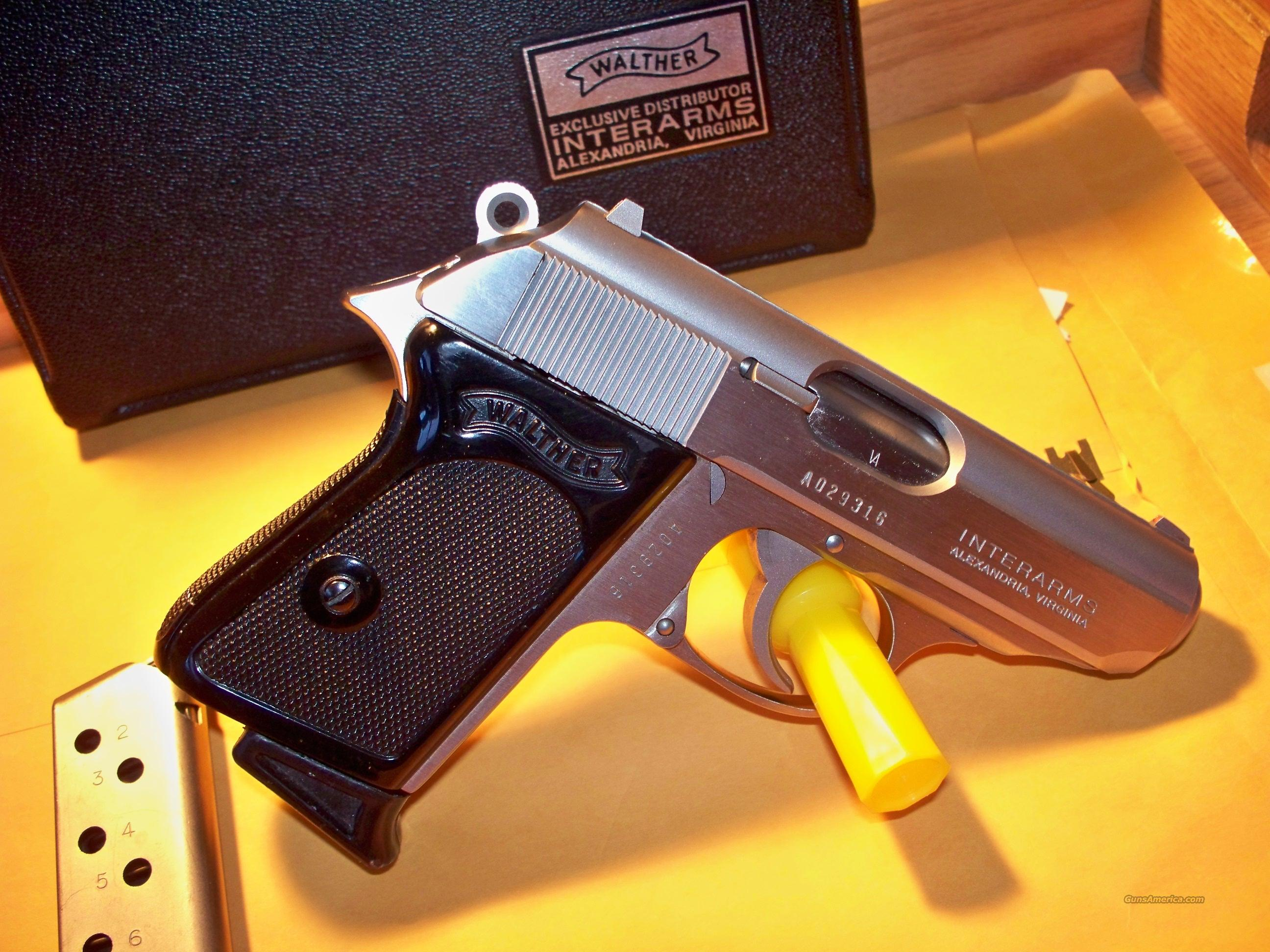 Interarms Walther PPK .380 ACP Pistol  Guns > Pistols > Walther Pistols > Post WWII > PPK Series