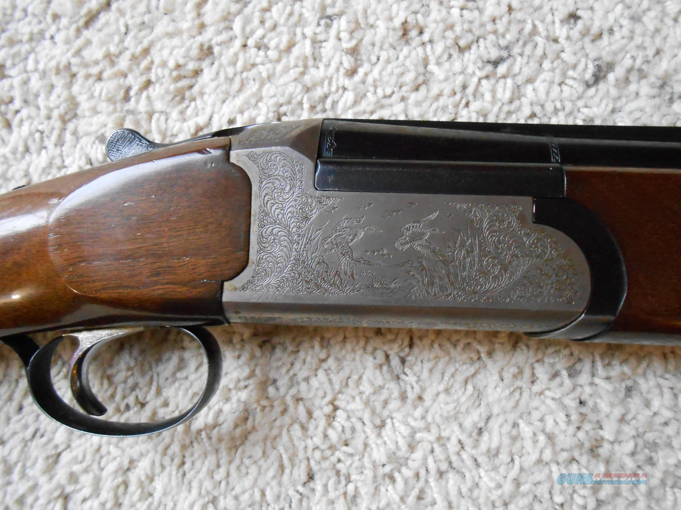 Siles over under shotgun made in italy 12 ga for sale for Made com italia