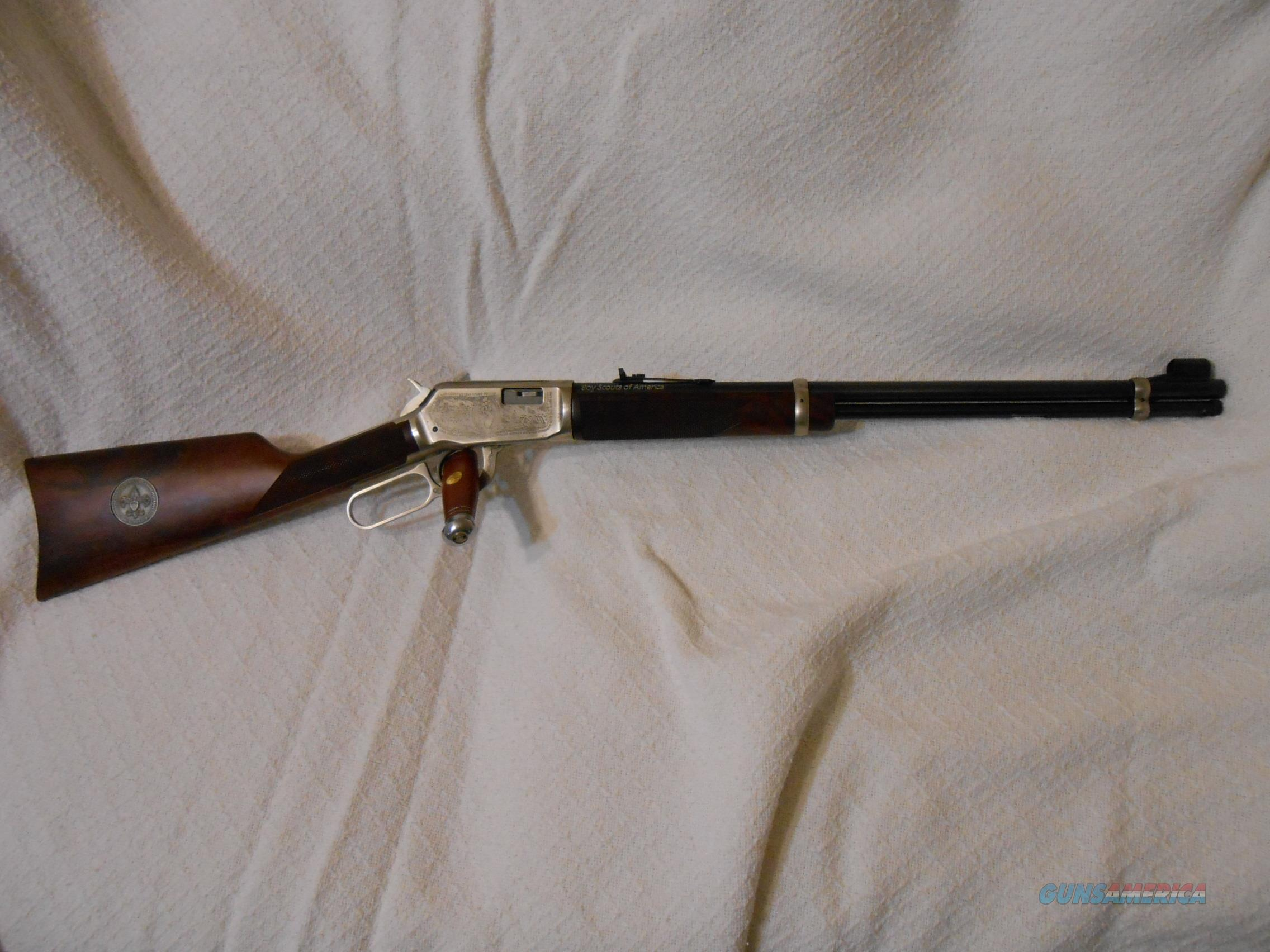 Winchester 9422 Boy Scout Commemorative XX Wood  Guns > Rifles > Winchester Rifle Commemoratives