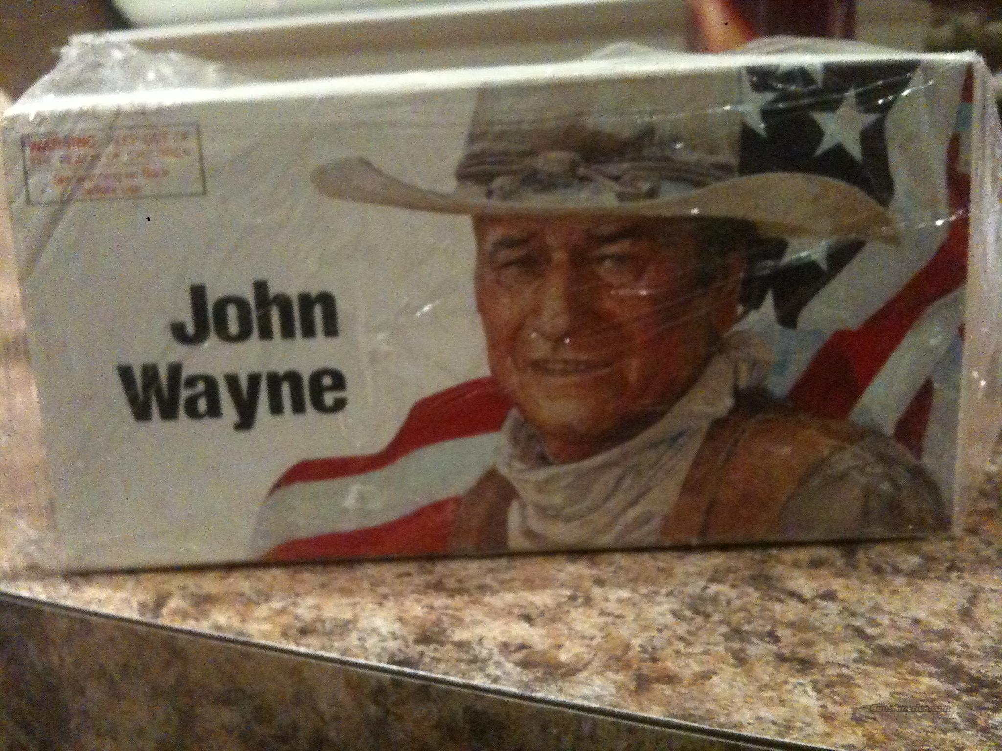 JOHN WAYNE 32-40 COMMEMORATIVE BOX OF AMMO BY WINCHESTER- UNOPENED - VINTAGE!!!!  Non-Guns > Ammunition