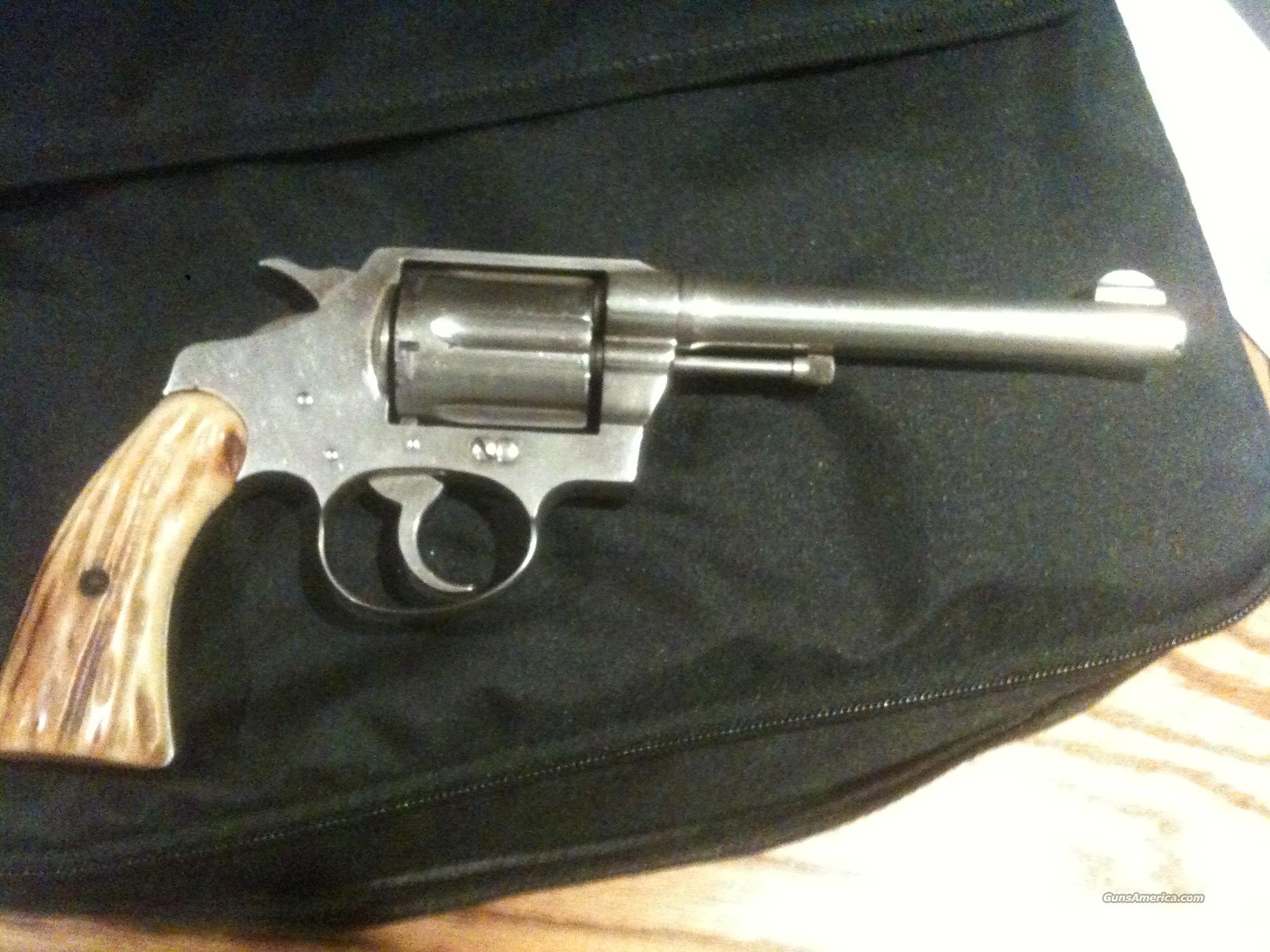 "COLT POLICE POSITIVE SPECIAL  32-20 WCF - FIRST ISSUE- 5"" BARREL - NICKEL PLATED - CIRA. 1926 - GOOD CONDITION - FAMILY OWNED  Guns > Pistols > Colt Double Action Revolvers- Pre-1945"