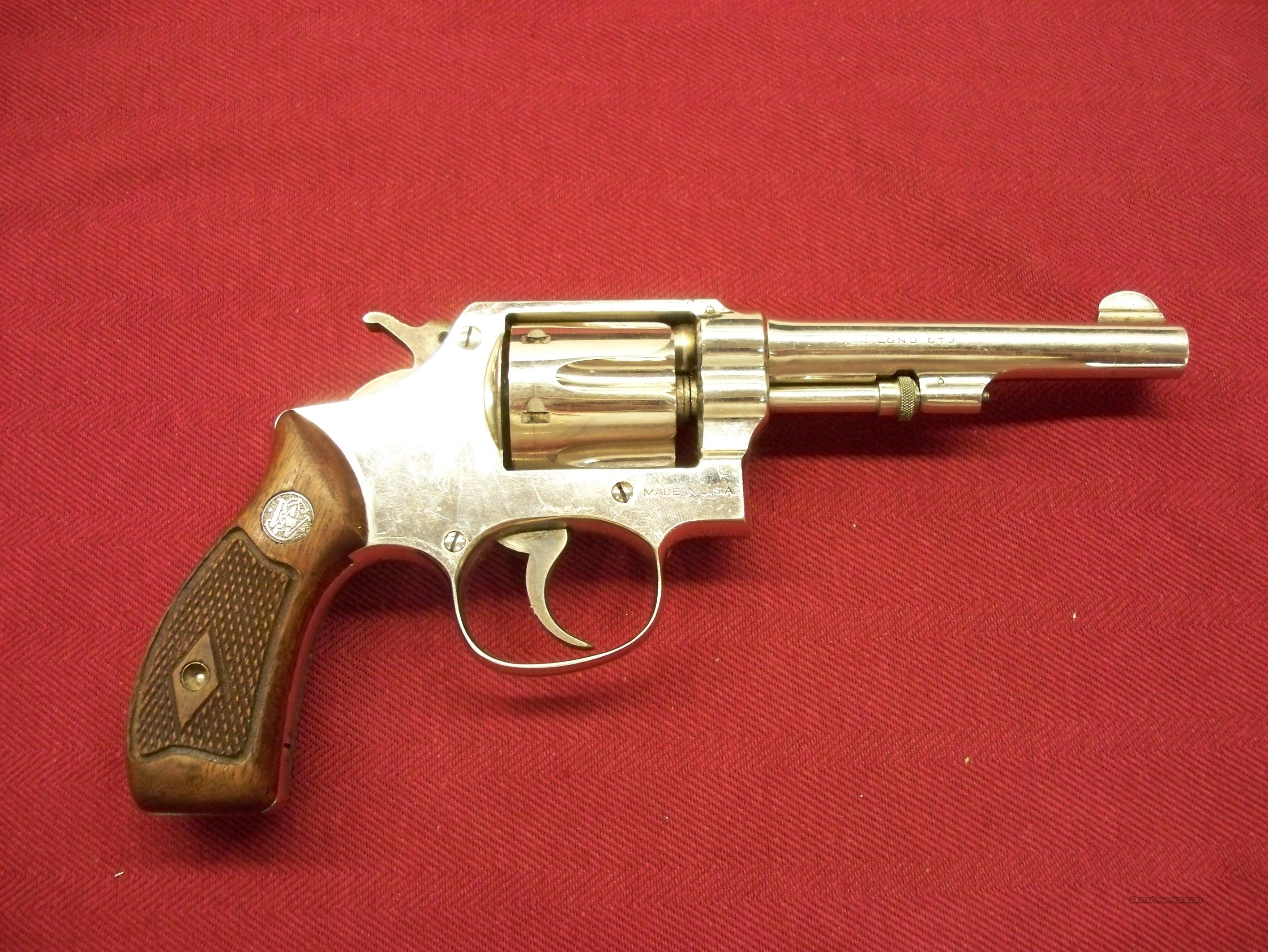 Smith & Wesson Hand Ejector 3rd Model .32 S&W Long caliber Revolver  Guns > Pistols > Smith & Wesson Revolvers > Pre-1945