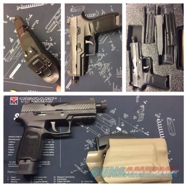 Sig Sauer P320 TacOps Threaded Barrel, 4-21rd mags, Suppressor height Night Sights  Guns > Pistols > Sig - Sauer/Sigarms Pistols > P320