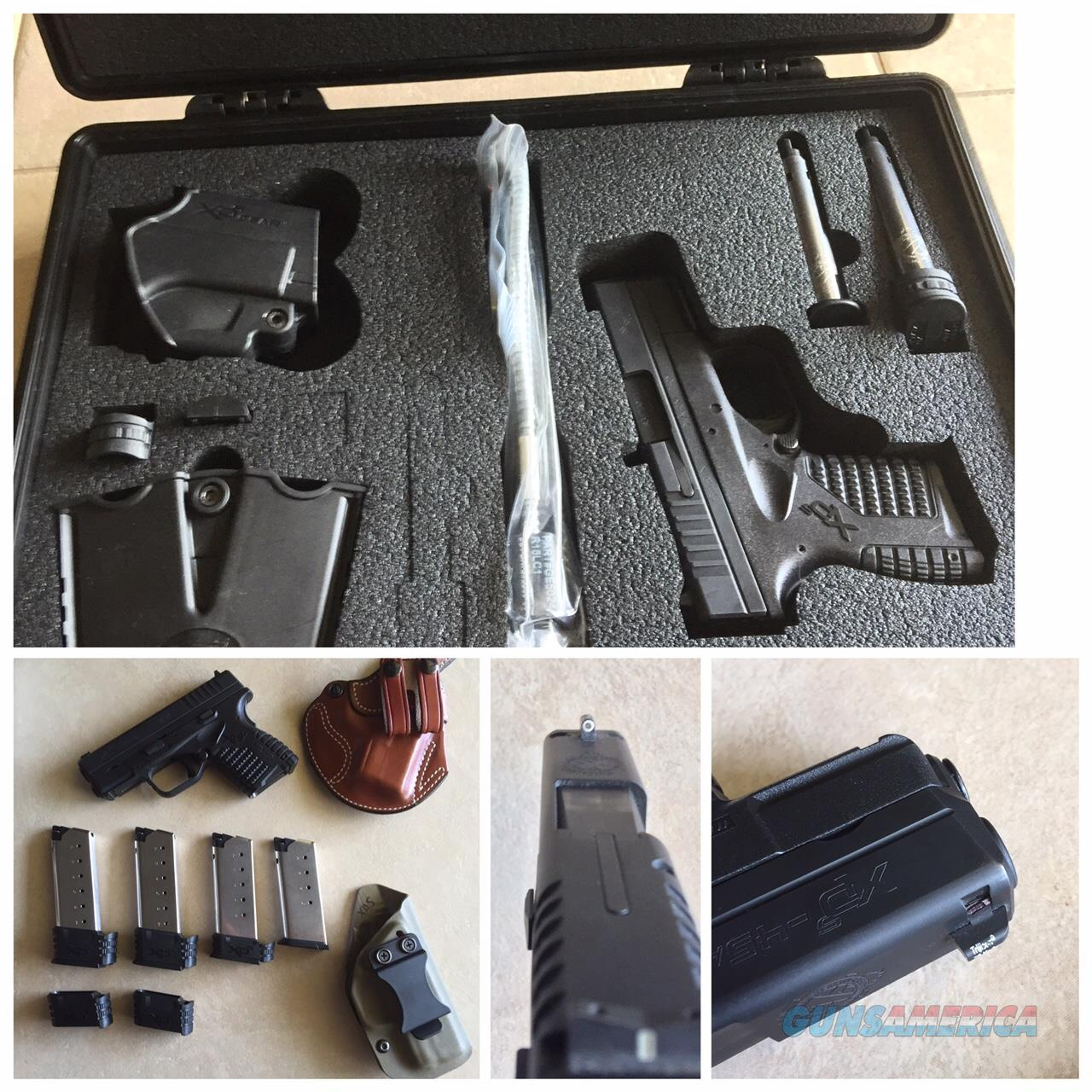 "Springfield Armory XDS 45 3.3"" with lots of extras!!!  Guns > Pistols > Springfield Armory Pistols > XD-S"