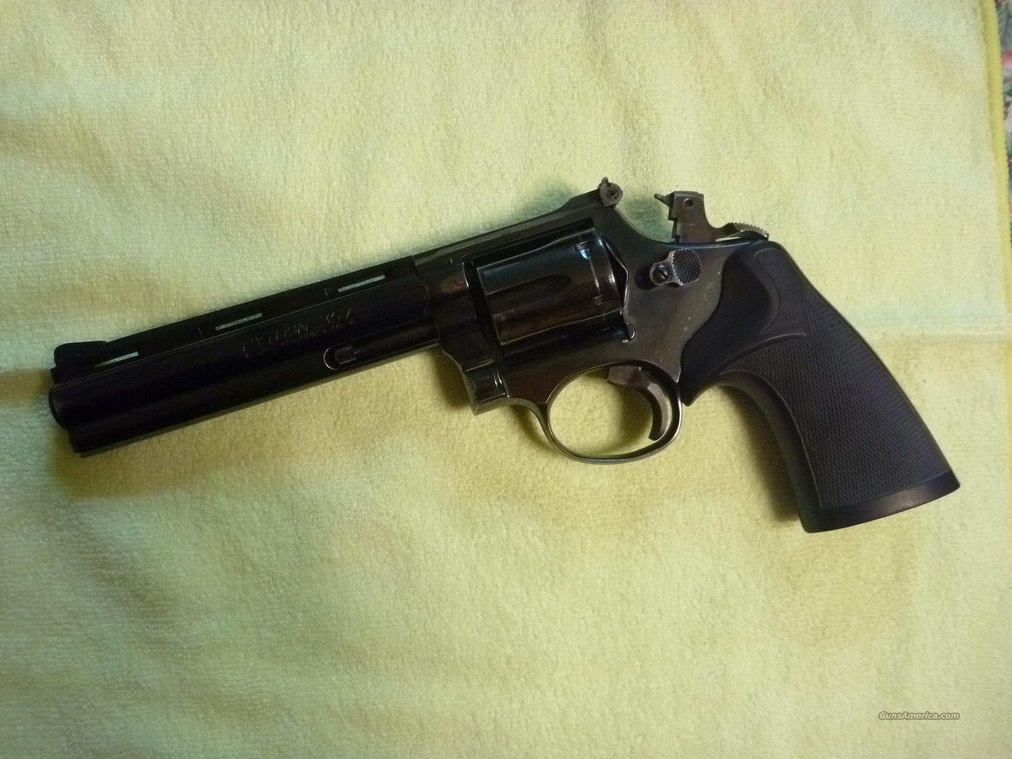 Model 19 with Colt Python Barrel  Guns > Pistols > Smith & Wesson Revolvers > Full Frame Revolver
