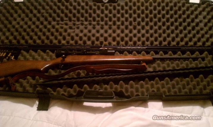 SAVAGE .243 DEER RIFLE W/ REDFIELD 3X9 SCOPE AND CASE  Guns > Rifles > Savage Rifles > Standard Bolt Action > Sporting