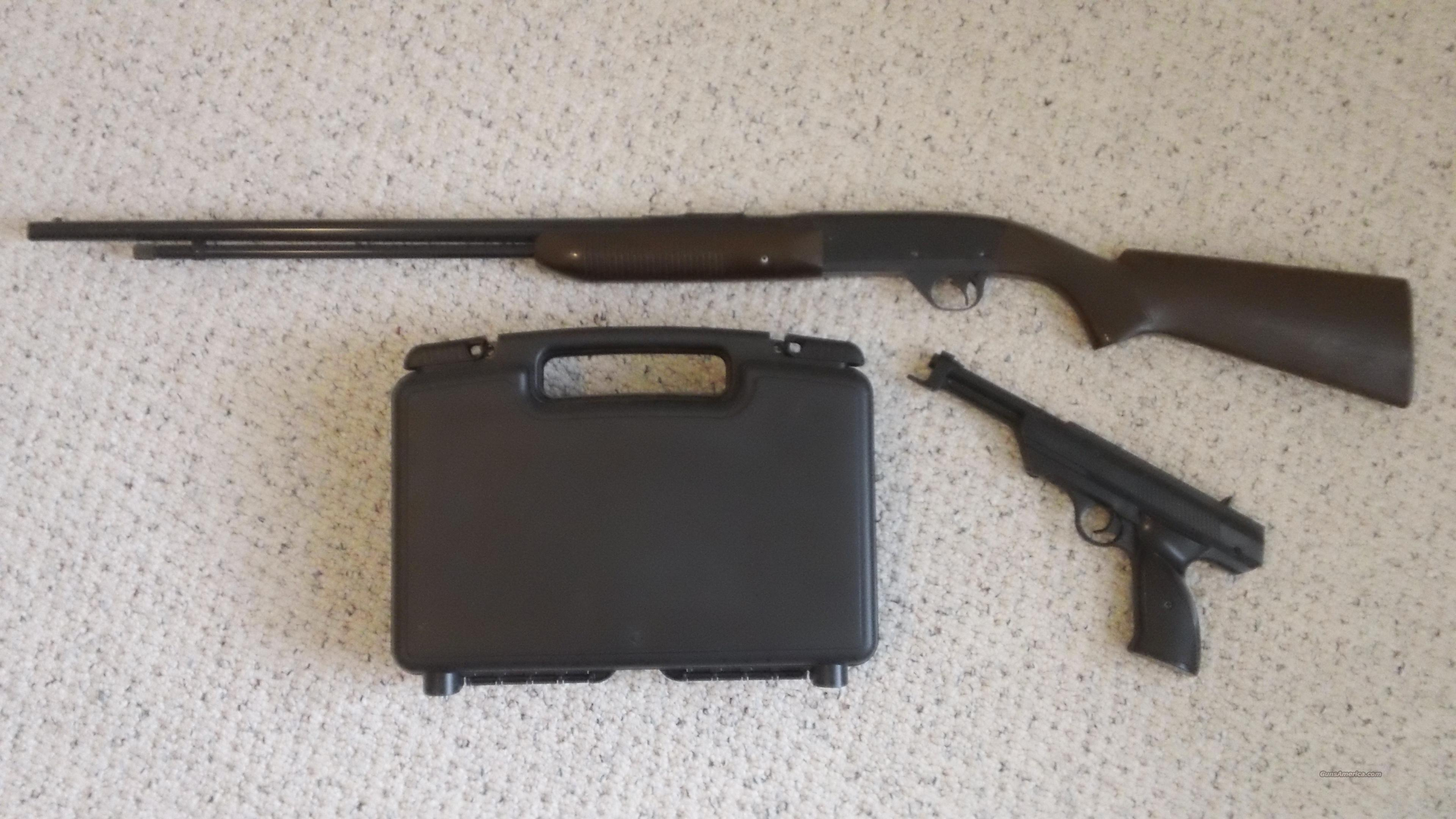 Vintage Daisy Model 26 BB Gun Pump Rifle And Model 188 Pump Pistol  Non-Guns > Air Rifles - Pistols > Vintage