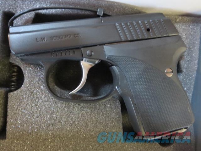 Seecamp .380acp DLC BLACK NIB 6+1 No CC Fees SALE LWS-380 New Factory Finish Option  Guns > Pistols > Seecamp Pistols