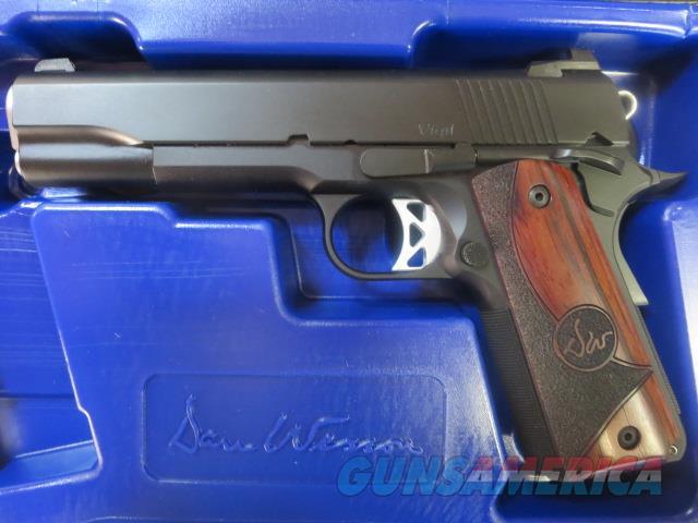 "Dan Wesson Vigil 9mm 5"" 1911 01833 9+1 2 mags NIB Night Sight Aluminum Frame  Guns > Pistols > Dan Wesson Pistols/Revolvers > 1911 Style"