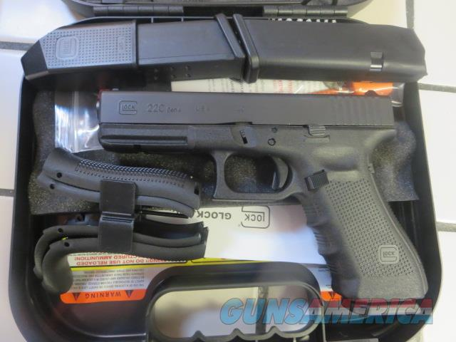 Glock G22C Gen 4 .40 15+1 3 mags Factory Reman G22 Compensated NIB SALE PRICE  Guns > Pistols > Glock Pistols > 22