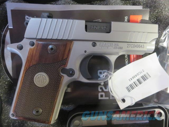 Sig Sauer P238 TALO ASE NIB .380 Tritium Night Sights 2 mags 238-380-ASE SALE PRICE  Guns > Pistols > Sig - Sauer/Sigarms Pistols > P238