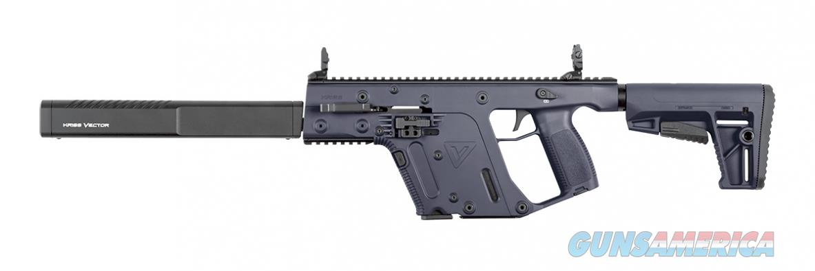 "Kriss Vector CRB G2 Carbine 9mm Combat Grey 17+1 16"" Glock Magazines KV90-CCG20  Guns > Rifles > Kriss Tactical Rifles"