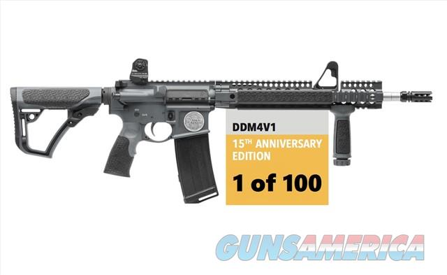 Daniel Defense DDM4 V1 15th Anniversary Edition 5.56 AR Limited Edition # 035 of only 100 made / with Concealment Shelf and DD Knife  Guns > Rifles > Daniel Defense > Complete Rifles