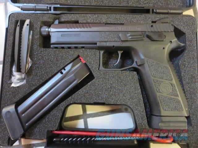 CZ P-09 9mm 91270 Threaded Barrel 19+1 2 mags NIB P09 PO9 Tritium Night Sights SALE  Guns > Pistols > CZ Pistols