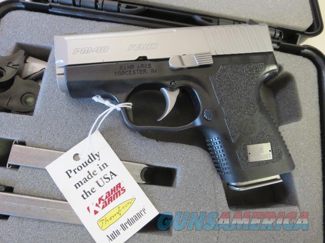 "Kahr PM40 3"" PM4043 NIB .40 5+1 3 mags SALE PRICE No CC Fees  Guns > Pistols > Kahr Pistols"