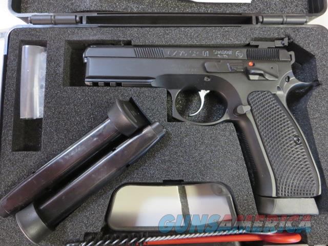 CZ 75 SP-01 Shadow Target II Custom Shop 18+1 9mm 3 mags 91760 NIB SALE  Guns > Pistols > CZ Pistols