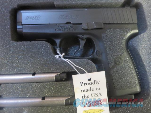 Kahr P40 w/ Diamond Black Slide .40 3 mags KP4044A NIB SALE PRICE  Guns > Pistols > Kahr Pistols