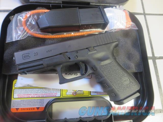 Glock 23 Gen 3 .40 13+1 2 mags NIB G23 SALE PRICE !!   Guns > Pistols > Glock Pistols > 23
