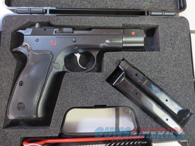 CZ 75 B 9mm Cold War Commemorative 75B 2 mags 91116 16+1 NIB RARE  Guns > Pistols > CZ Pistols