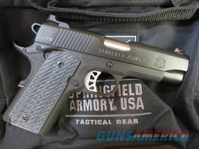 Springfield Armory Range Officer Elite LW Compact NIB .45 PI9126ER18 1911 w/ 5 mags Range Bag  Guns > Pistols > Springfield Armory Pistols > 1911 Type