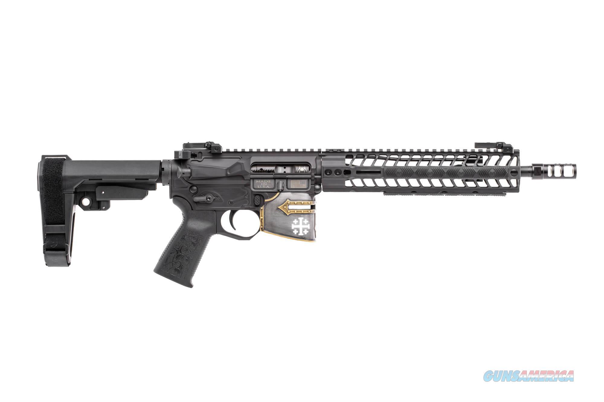 "Spikes Tactical Rare Breed Crusader Pistol 5.56 AR-15 11.5"" Non-NFA 30+1 NIB SALE PRICE STP5625-M1R  Guns > Pistols > Spikes Tactical Pistols"