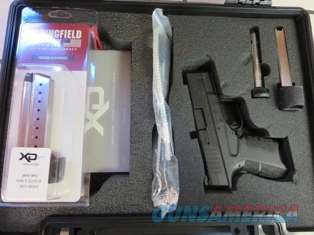 "Springfield Armory XD-S Mod.2 9mm 3.3"" XDSG9339BT NIB New Mod2 SALE XDS 3 mags Tritium Front Night Sigts NS  Guns > Pistols > Springfield Armory Pistols > XD-S"