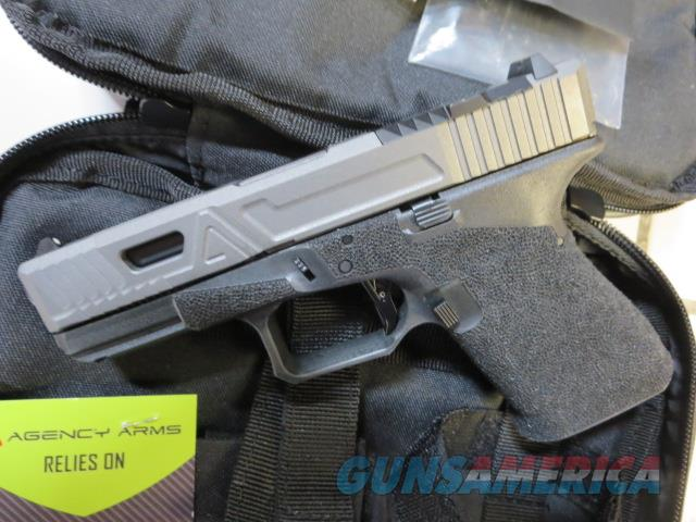 Agency Arms Glock 19 Gen3 9mm 15+1 Urban Combat Full Build NIB G19 Gen 3 In Stock No CC Fees RARE RMR cut Tungsten  Guns > Pistols > Glock Pistols > 19