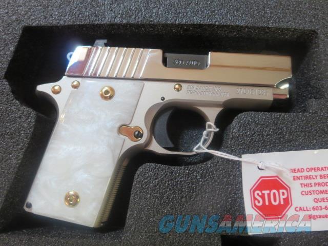 Sig Sauer P238 Tuxedo Edition Limited Run .380 2 mags Night Sights 238-380-TUX NIB CHECK IT OUT !!  Guns > Pistols > Sig - Sauer/Sigarms Pistols > P238