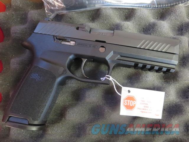 Sig Sauer P320 Full Size Tritium Night Sights .40 14+1 USED EXCELLENT CONDITION 2 mags SALE PRICE 320  P320F  Guns > Pistols > Sig - Sauer/Sigarms Pistols > P320