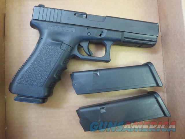 Glock 22 Gen3 .40 15+1 3 mags Tritium Night Sights USED VG Condition G22 Gen 3 SALE  Guns > Pistols > Glock Pistols > 22