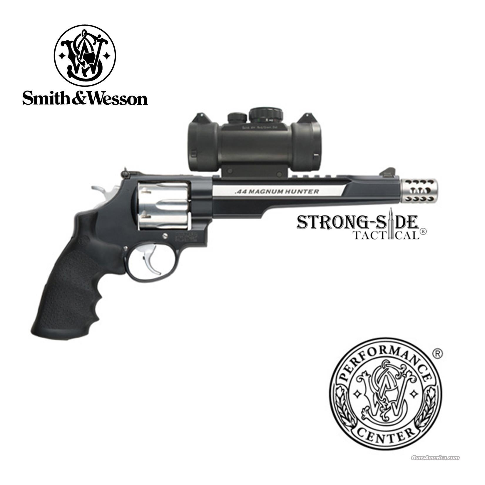 "Smith & Wesson Model 629 Hunter 7.5"" .44 Magnum, 6 Round Capacity w/red dot sight (Performance Center)  Guns > Pistols > Smith & Wesson Revolvers > Performance Center"