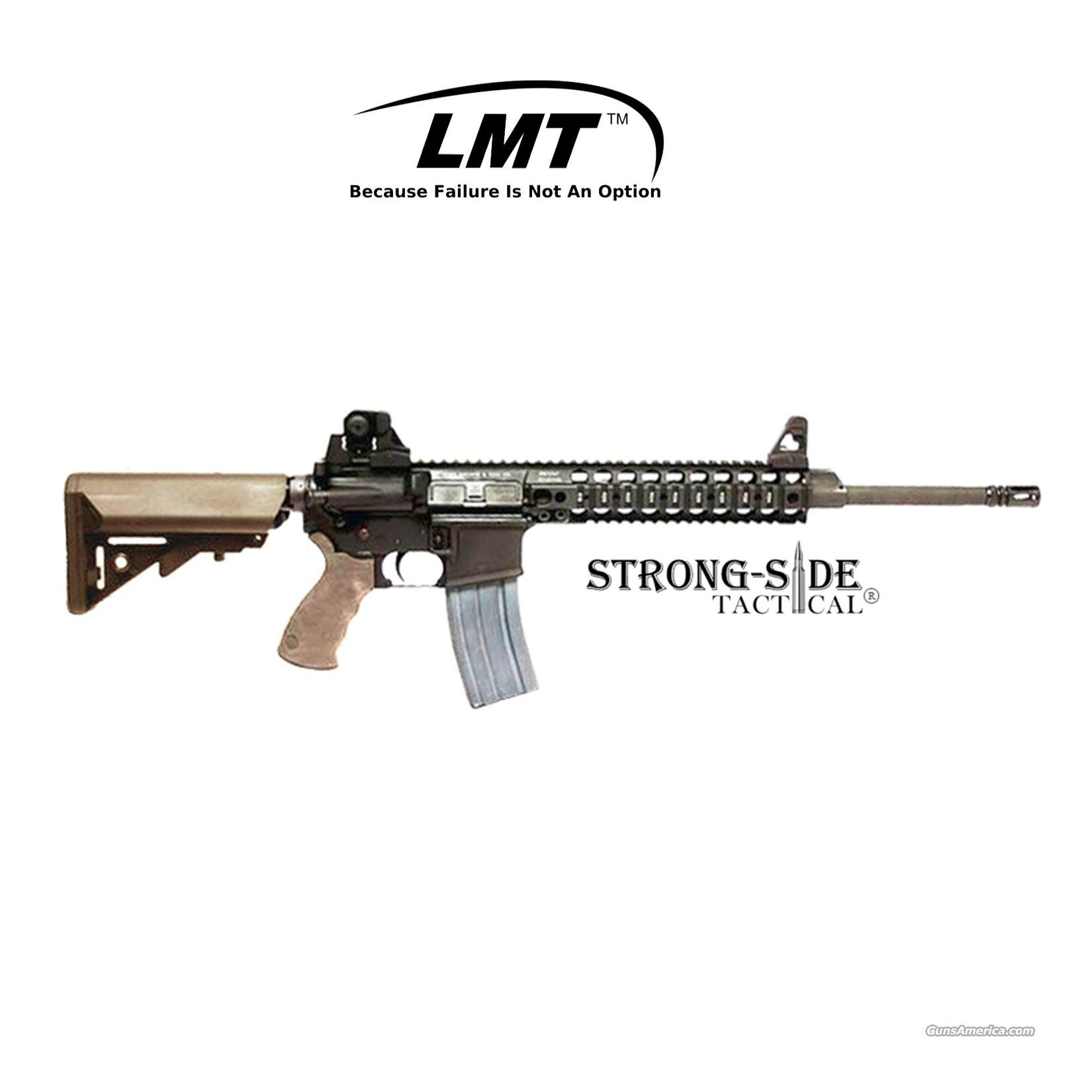 "LMT CQB16 DEFENDER MRP MONOLITHIC PLATFORM 16"" 5.56 NATO/.223, FDE Furniture (SHIPS FOR FREE, NO CC FEES)  Guns > Rifles > AR-15 Rifles - Small Manufacturers > Complete Rifle"