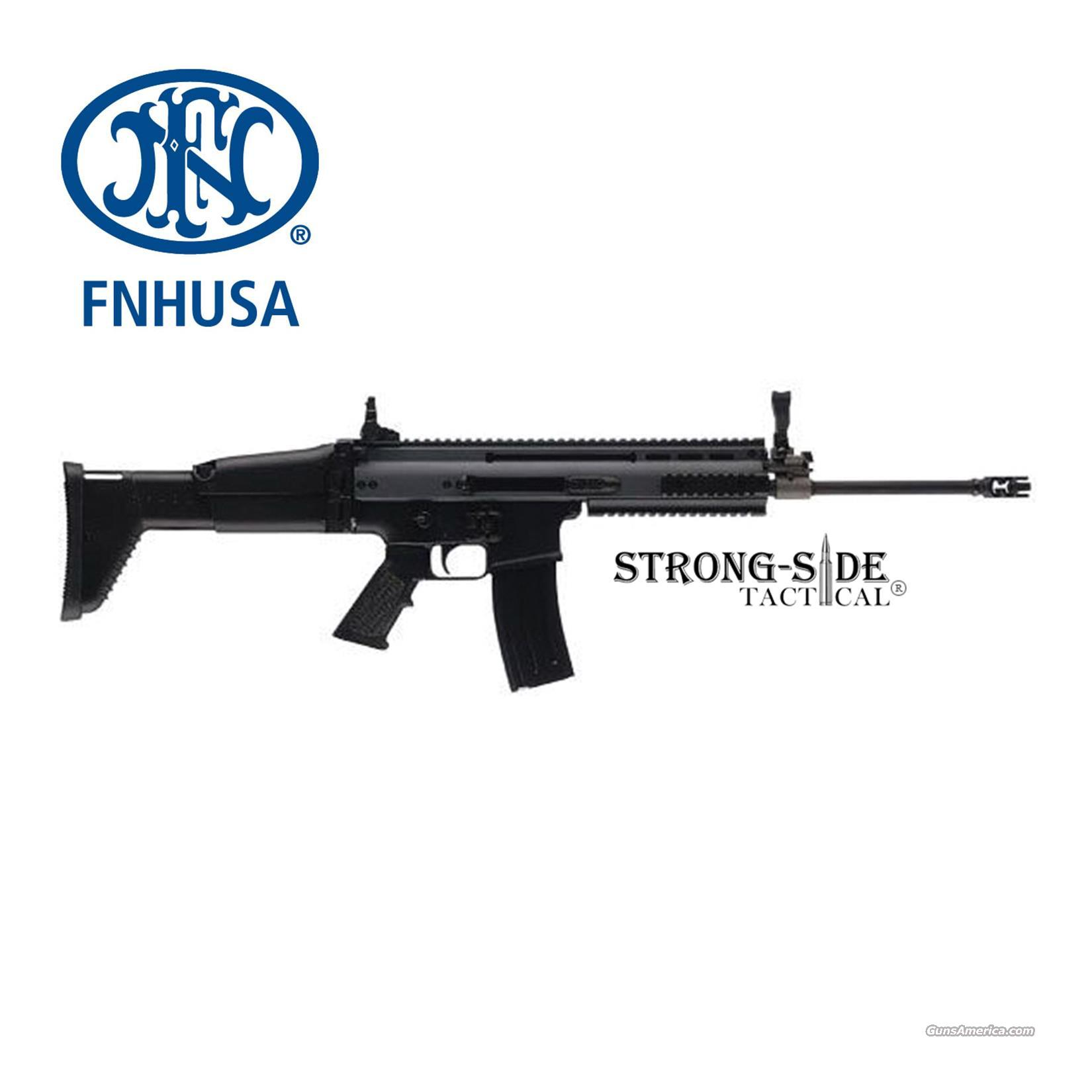 FNH USA SCAR 16S (BLK) 5.56mm / .223 (SHIPS FREE, NO CC FEES)  Guns > Rifles > FNH - Fabrique Nationale (FN) Rifles > Semi-auto > Other