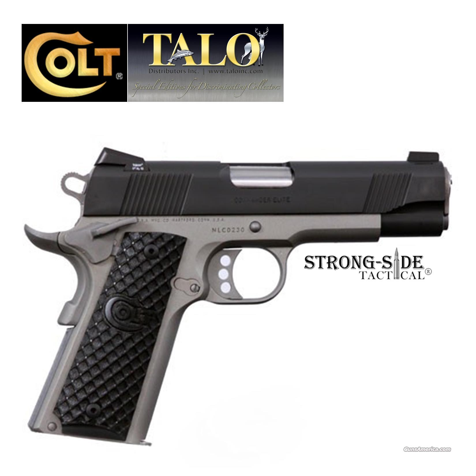"Colt Commander Elite Lightweight (Talo Limited Edition) 4 1/4"" .45ACP 1911 (Ships for FREE + No Credit Card fees)  Guns > Pistols > Colt Automatic Pistols (1911 & Var)"