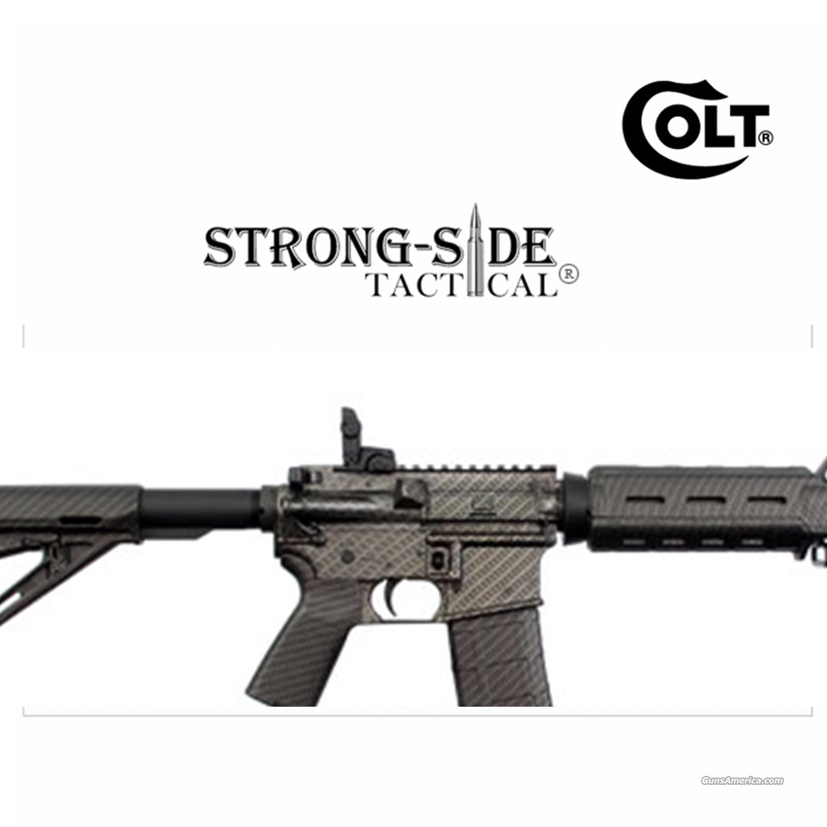 COLT LE6920MPCF M4 Carbine (Talo Limited Edition Carbon Fiber Camo Finish) .223/5.56  FREE SHIPPING  Guns > Rifles > Colt Military/Tactical Rifles