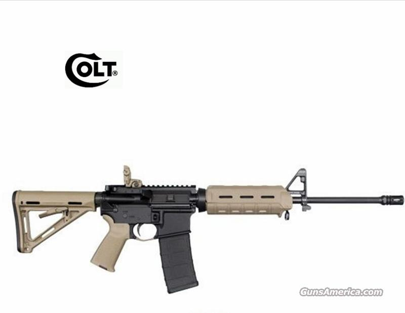 "COLT LT6720MP-FDE 16"" Pencil Barrel Carbine  Guns > Rifles > Colt Military/Tactical Rifles"