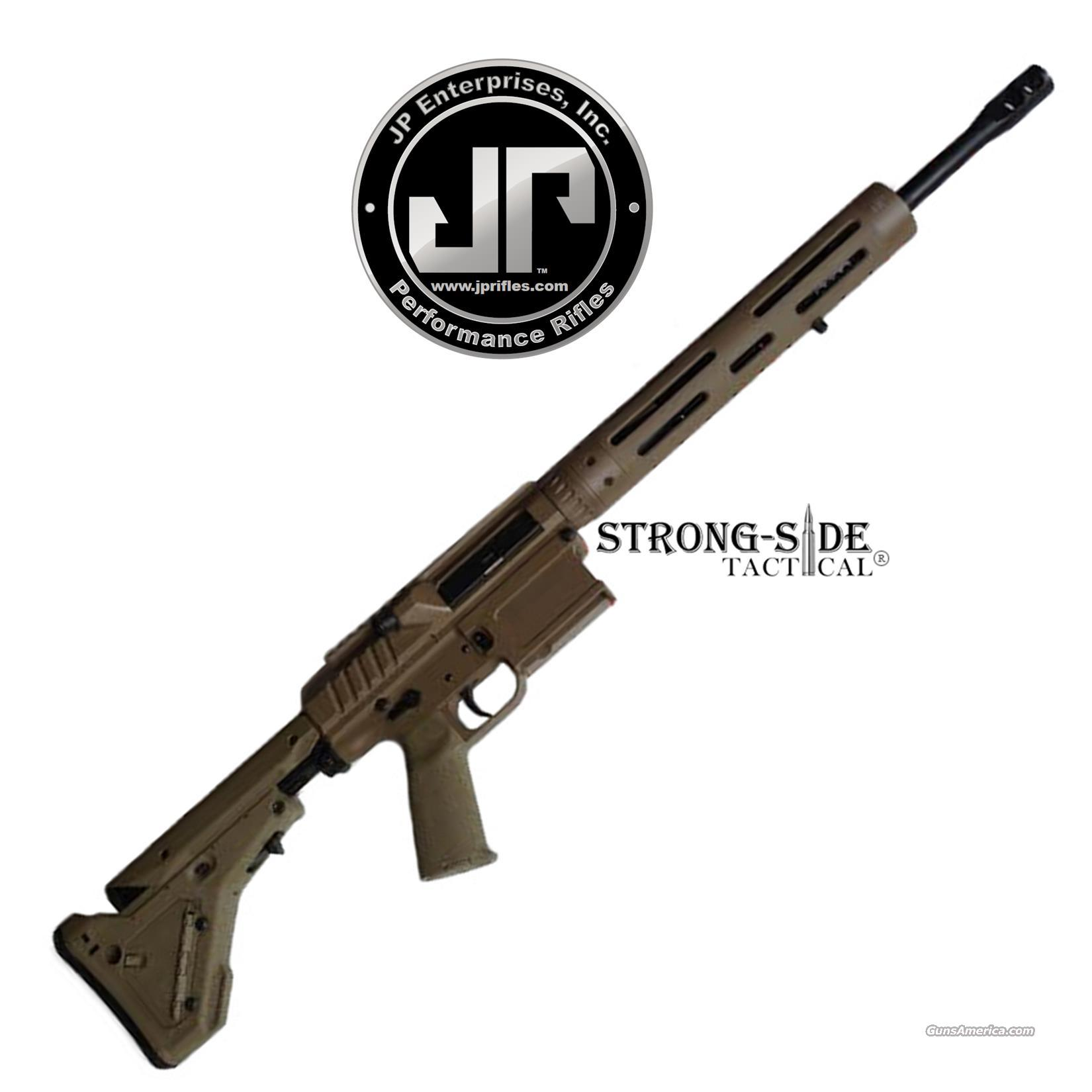 "JP ENTERPRISES LRP-07 PRECISION AR10 7.62X51 / .308 16"" FDE FINISH (ships for FREE, no CC fees)  Guns > Rifles > AR-15 Rifles - Small Manufacturers > Complete Rifle"