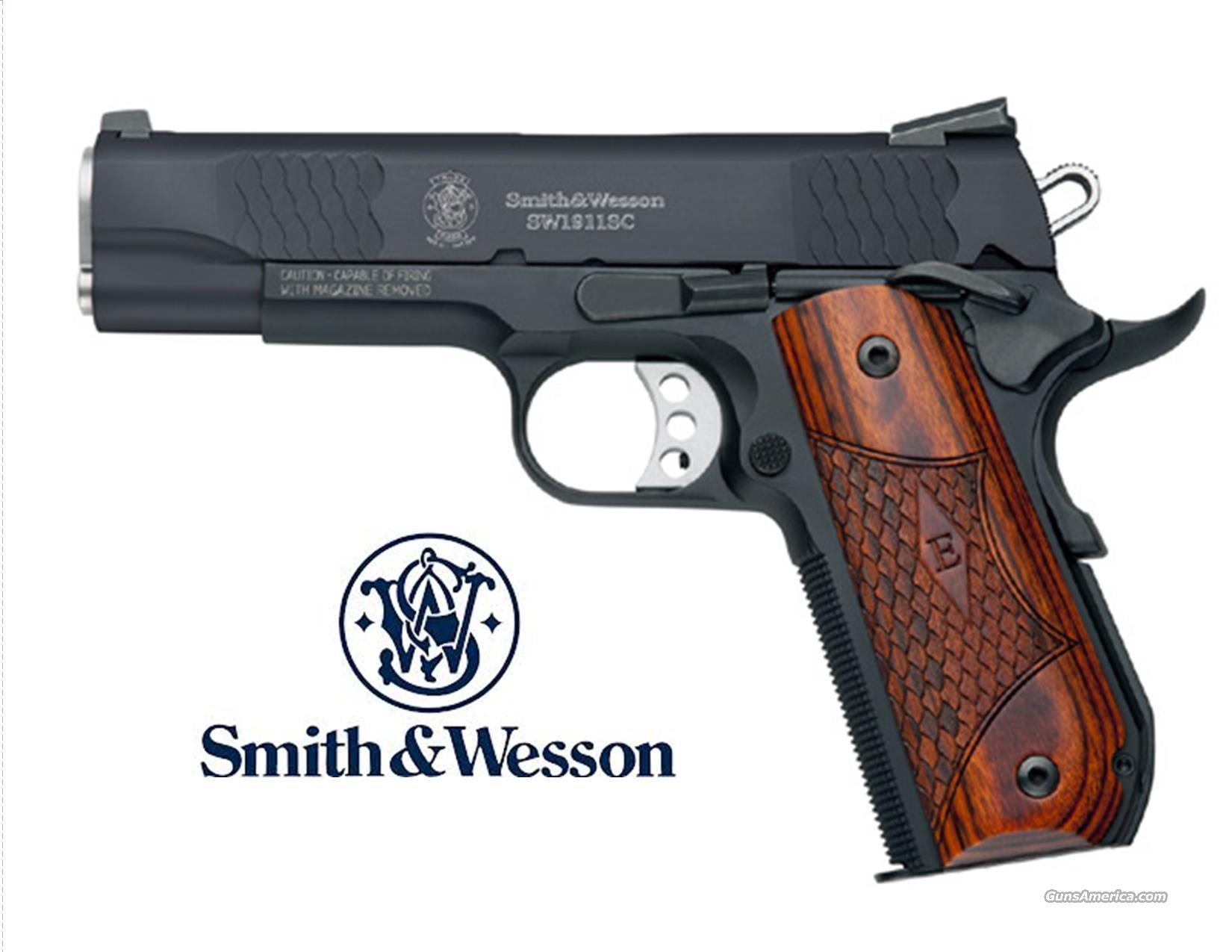 Smith & Wesson E-Series 1911 Model SW1911SC (Scandium Frame + Night Sights) NO CC FESS + FREE SHIPPING   Guns > Pistols > Smith & Wesson Pistols - Autos > Alloy Frame