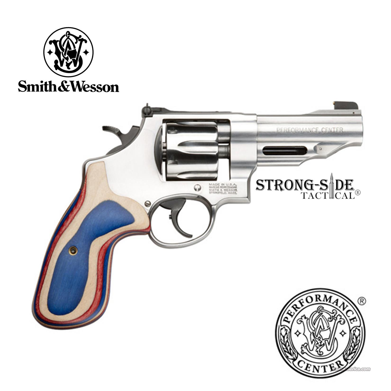 "Smith & Wesson Model 625 JM, 4"" Stainless Steel .45 ACP 6 Round Revolver (Performance Center) Model 170161 SHIPS FOR FREE, NO CREDIT CARD FEES  Guns > Pistols > Smith & Wesson Revolvers > Performance Center"