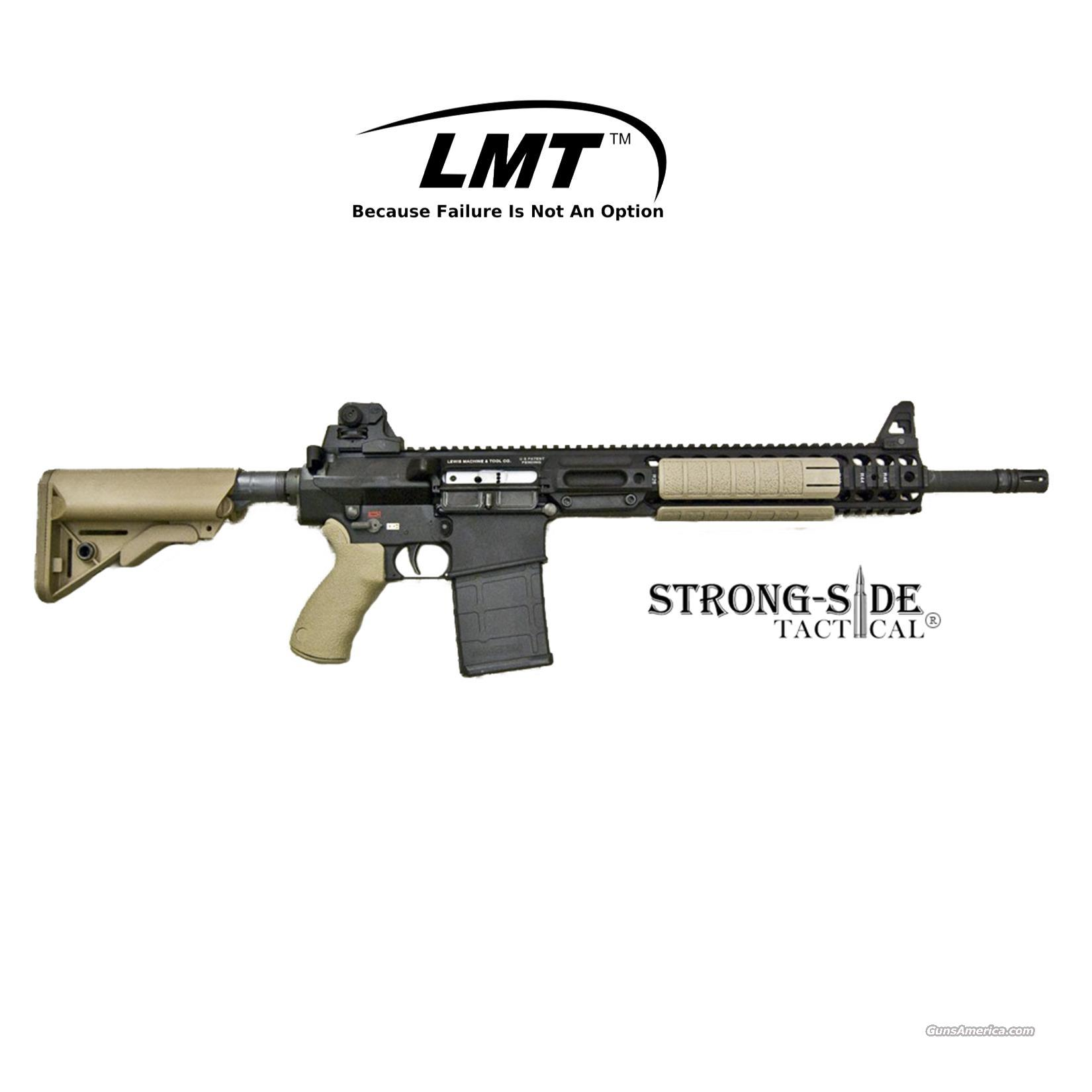 "LMT LM308MWSE .308 Modular Weapon System, 16"" Chrome Lined Barrel AR10 (.308) - Flat Dark Earth  *Ships for FREE NO CC FEES  Guns > Rifles > AR-15 Rifles - Small Manufacturers > Complete Rifle"