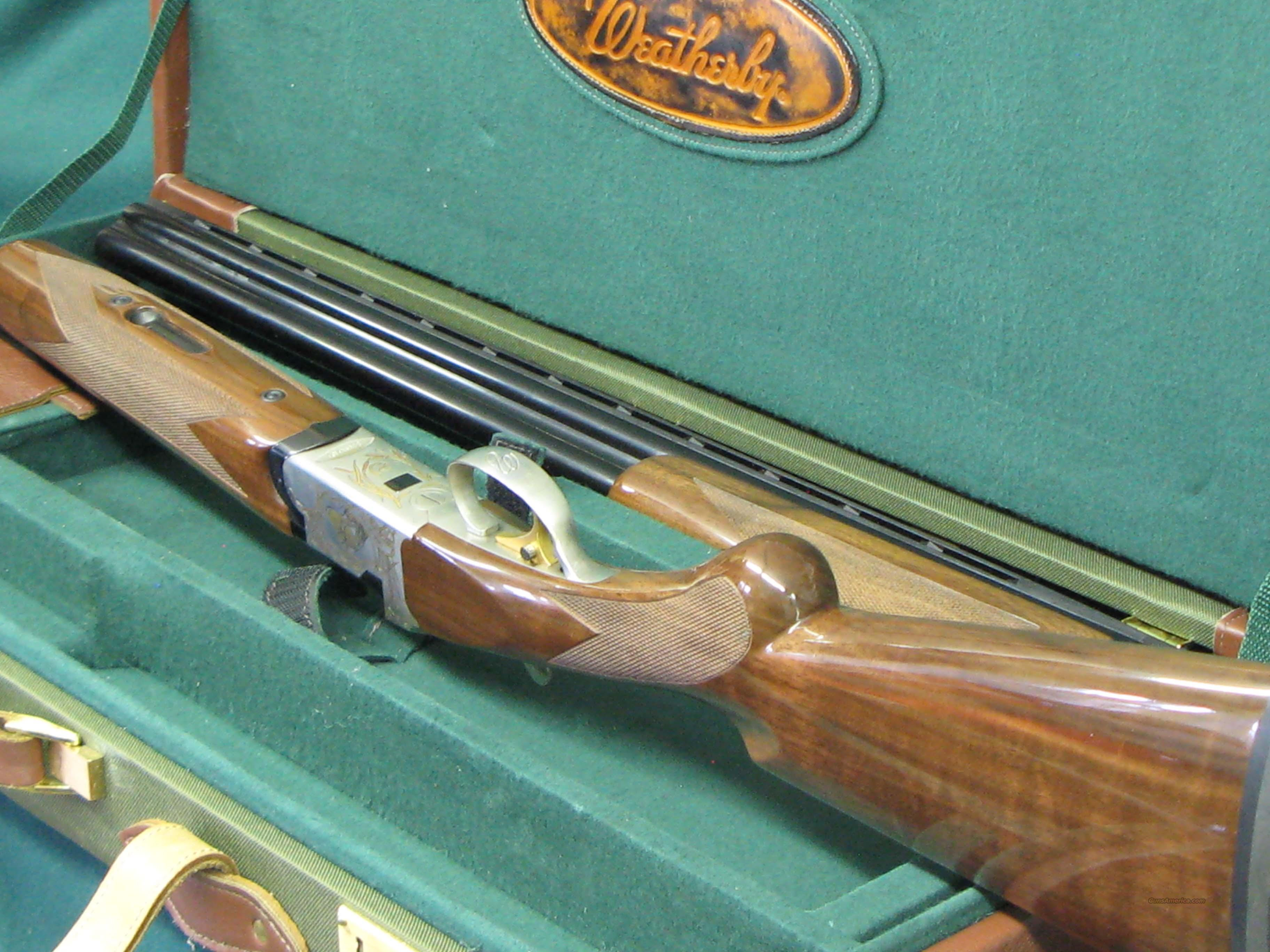 Weatherby Orion Ducks Unlimited 2 barrel set  Guns > Shotguns > Weatherby Shotguns > Hunting > O/U