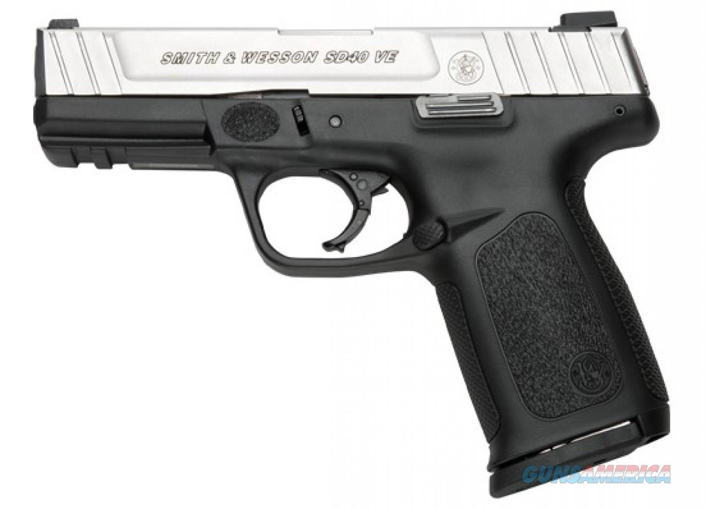 Smith & Wesson SD40 VE .40 S&W  Guns > Pistols > Smith & Wesson Pistols - Autos > Polymer Frame
