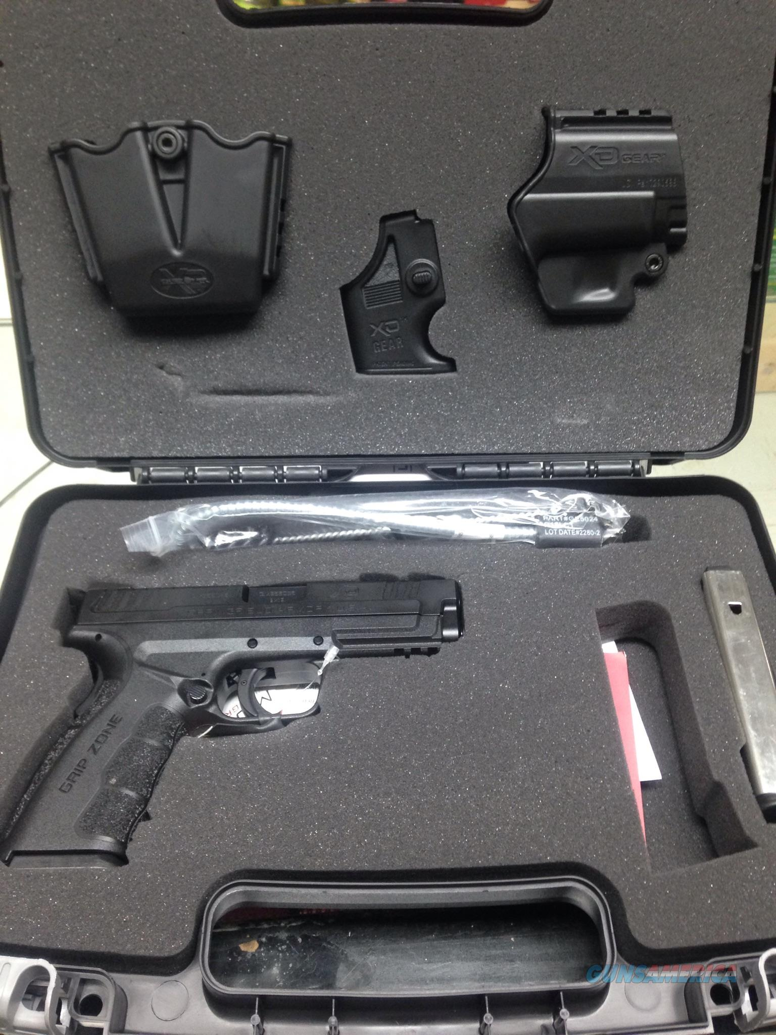 Springfield XD 9mm mod 2 with holsters and case  Guns > Pistols > Springfield Armory Pistols > XD (eXtreme Duty)