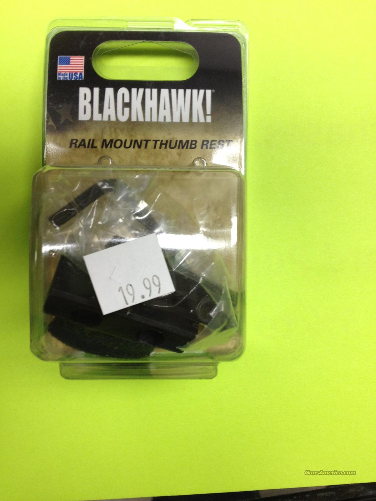 BLACKHAWK! Rail mount thumb rest  Non-Guns > Gun Parts > M16-AR15