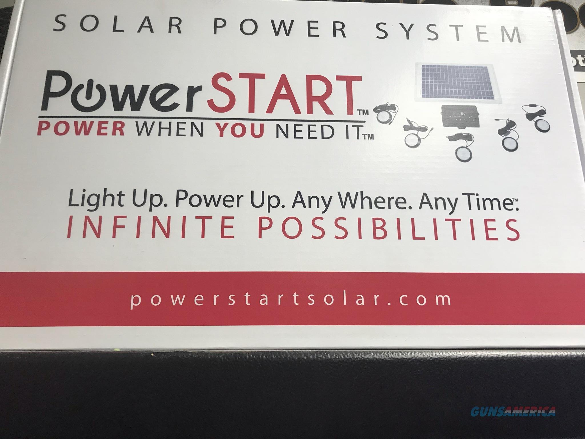 Power Start solar power system lights  Non-Guns > Electronics