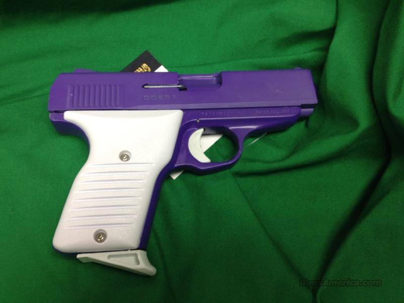 Cobra .380 purple and white FS380LKW  Guns > Pistols > Cobra Derringers