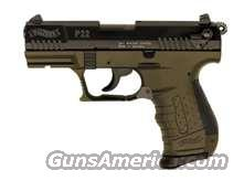 P22 Walther Pistol Short Barrel  Guns > Pistols > Walther Pistols > Post WWII > P22